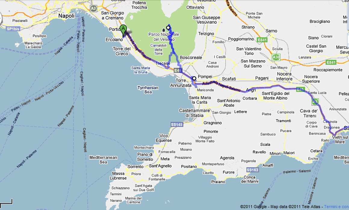 Shore Excursions for cruise passengers from the port of Salerno